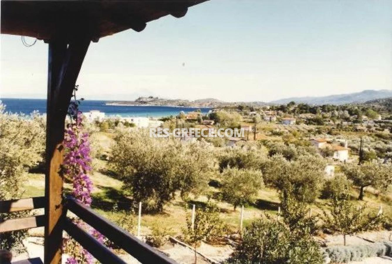 Kipos, Halkidiki-Sithonia, Greece - cottage with a big plot for sale near to the great beach - Photo 3