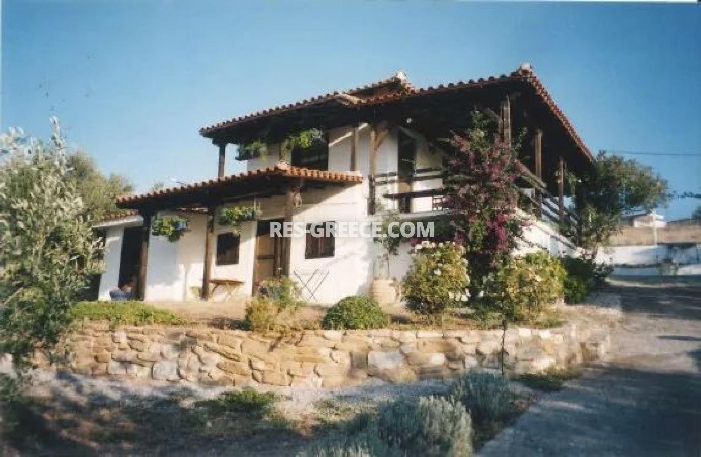 Kipos, Halkidiki-Sithonia, Greece - cottage with a big plot for sale near to the great beach - Photo 1