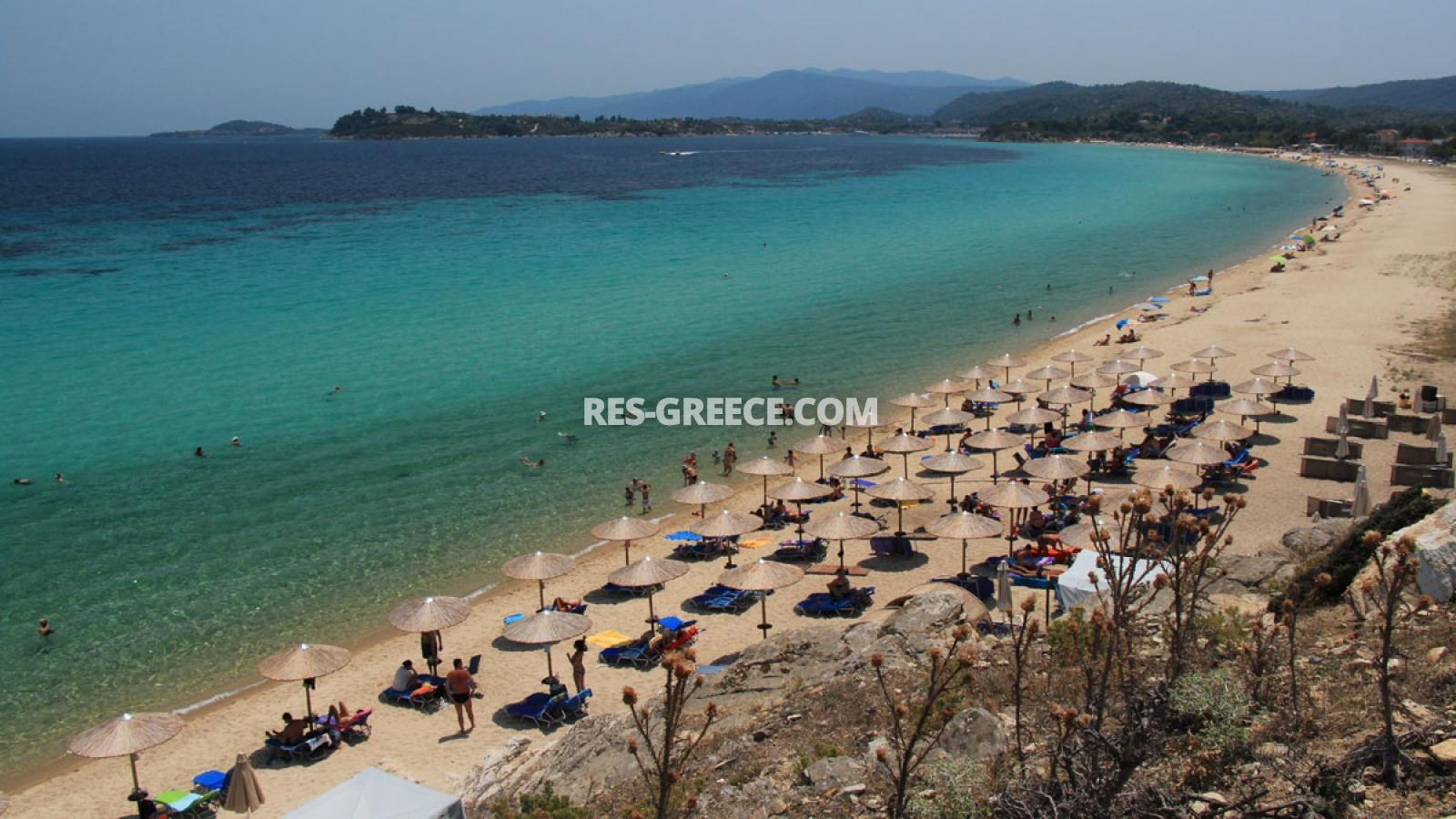 Kipos, Halkidiki-Sithonia, Greece - cottage with a big plot for sale near to the great beach - Photo 7