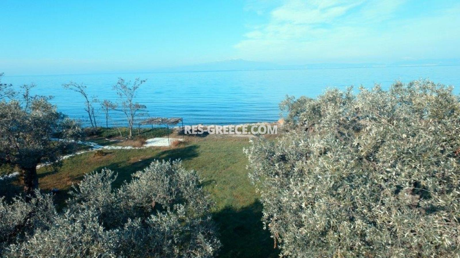 Pilos, Northern Aegean Islands, Greece - big beachfront plot with the for house for reconstruction - Photo 5