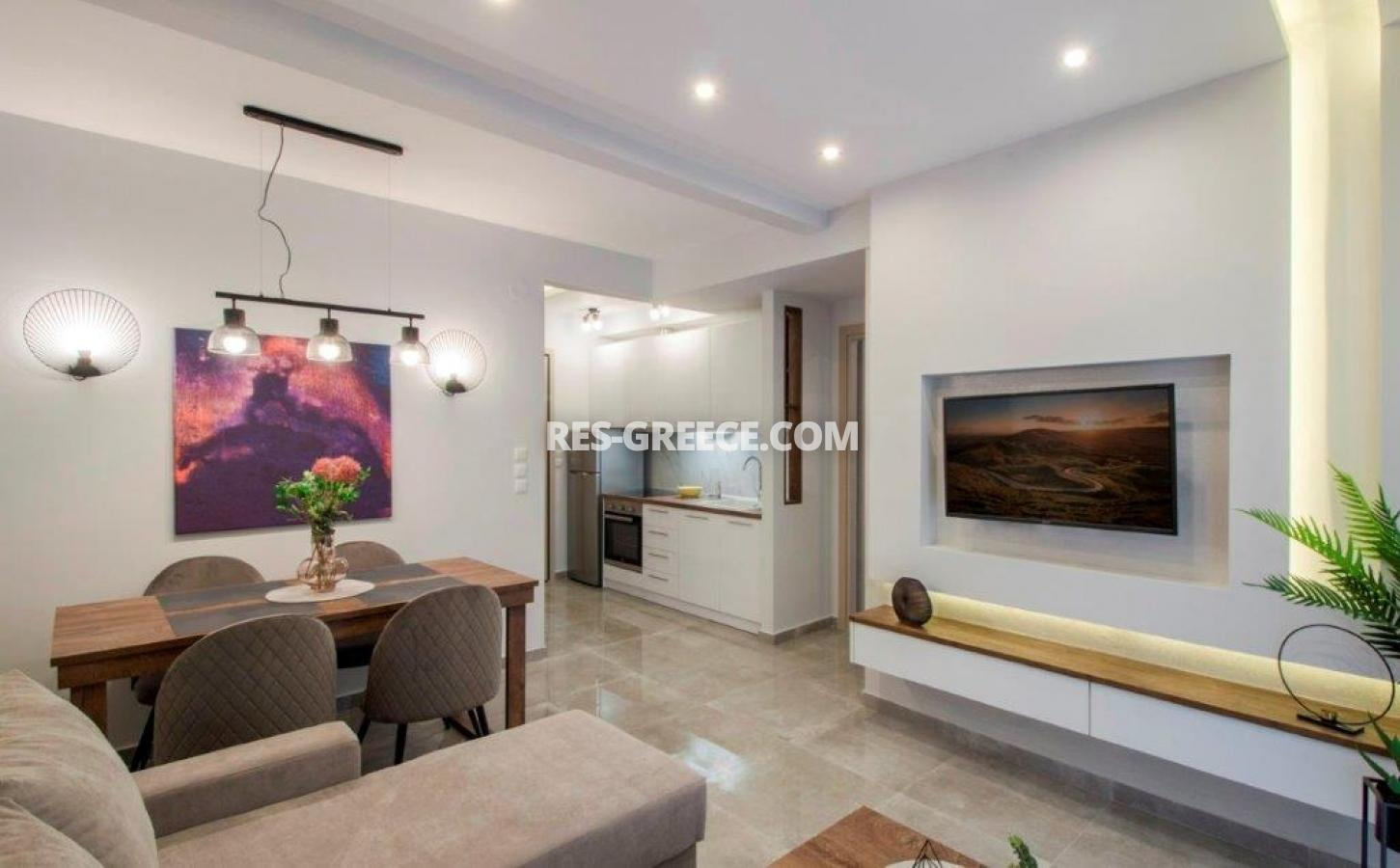 Kontogouri, Central Macedonia, Greece - fully furnished and decorated apartment after full renovation near Nea Paralia - Photo 2