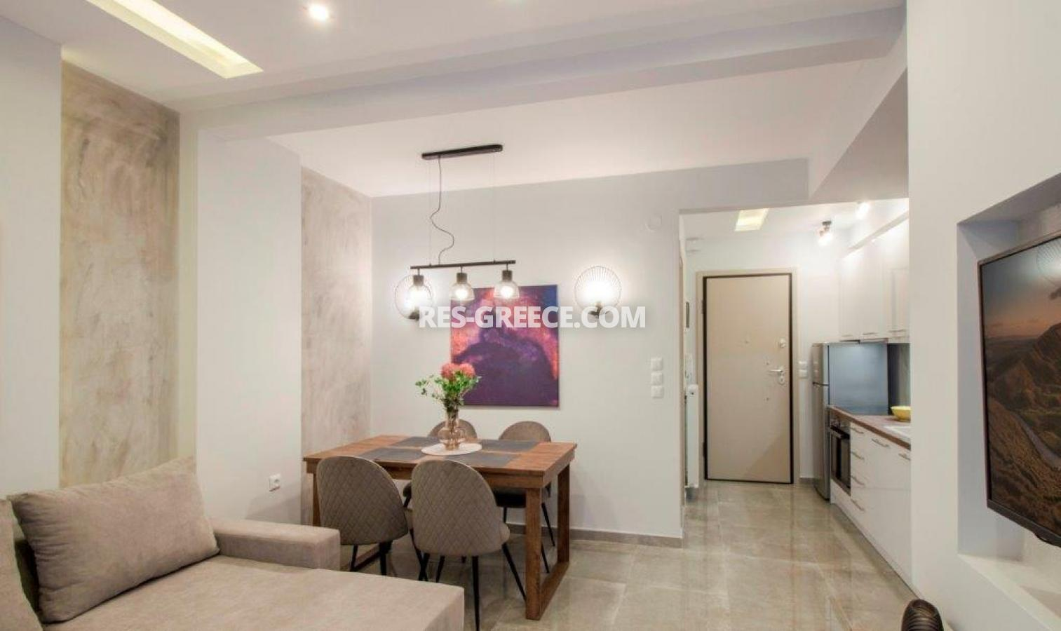 Kontogouri, Central Macedonia, Greece - fully furnished and decorated apartment after full renovation near Nea Paralia - Photo 6