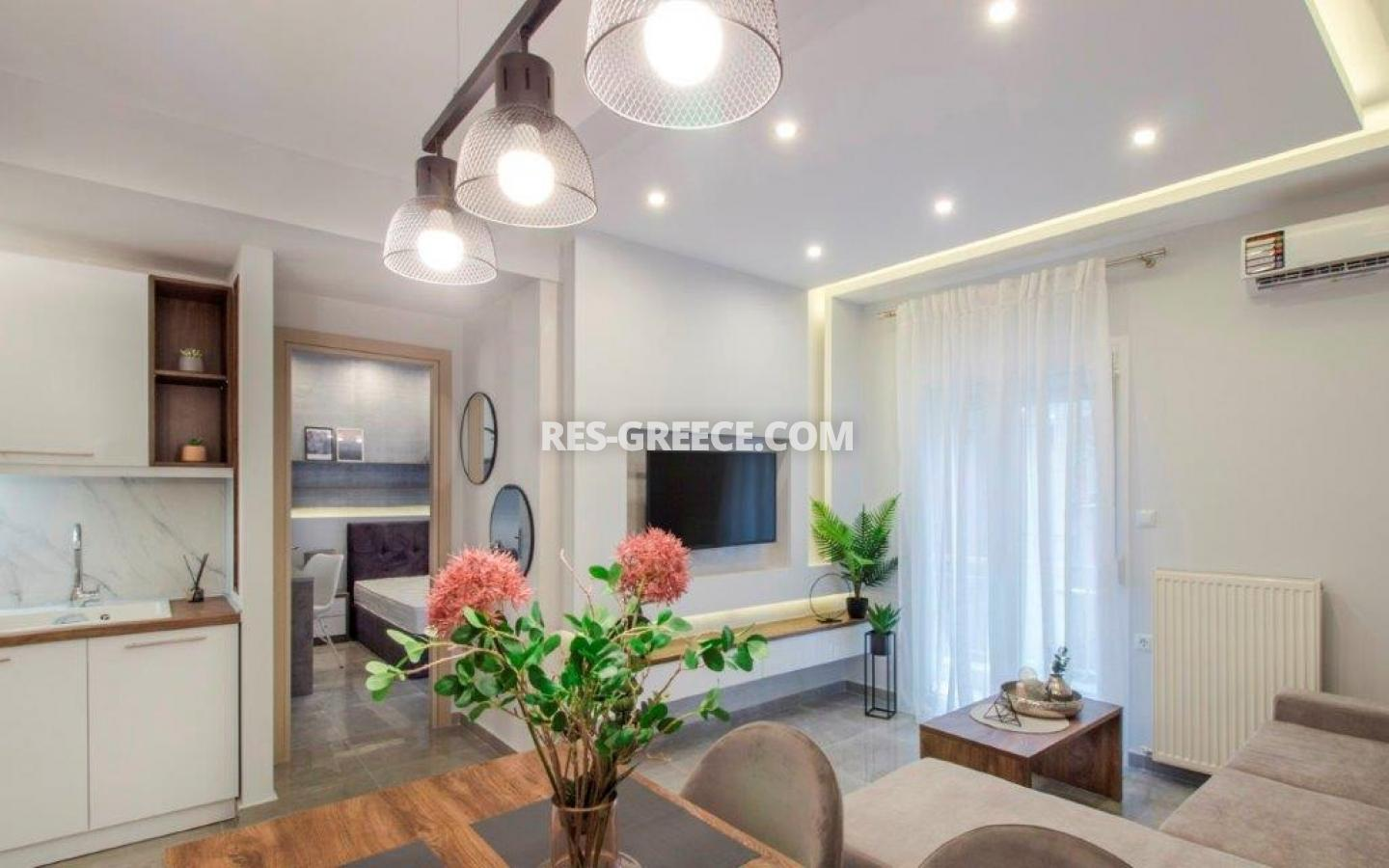 Kontogouri, Central Macedonia, Greece - fully furnished and decorated apartment after full renovation near Nea Paralia - Photo 4