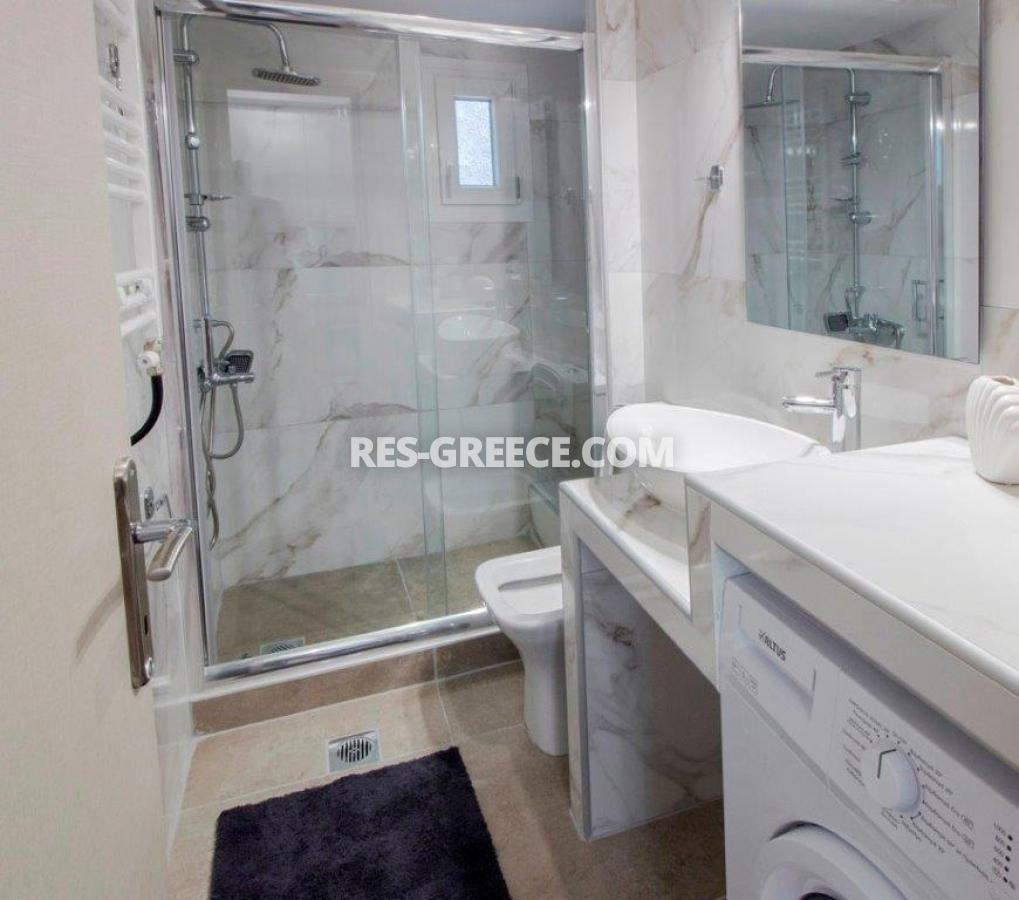 Kontogouri, Central Macedonia, Greece - fully furnished and decorated apartment after full renovation near Nea Paralia - Photo 9