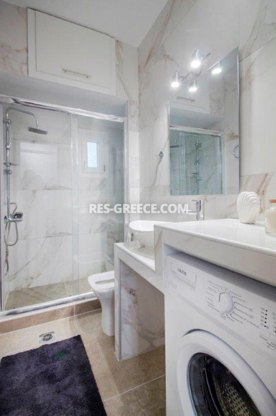 Kontogouri, Central Macedonia, Greece - fully furnished and decorated apartment after full renovation near Nea Paralia - Photo 10