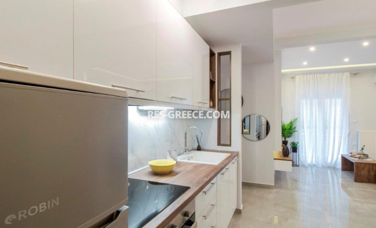 Kontogouri, Central Macedonia, Greece - fully furnished and decorated apartment after full renovation near Nea Paralia - Photo 8