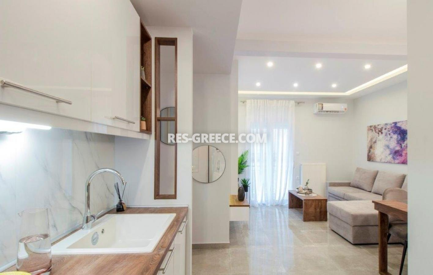 Kontogouri, Central Macedonia, Greece - fully furnished and decorated apartment after full renovation near Nea Paralia - Photo 5