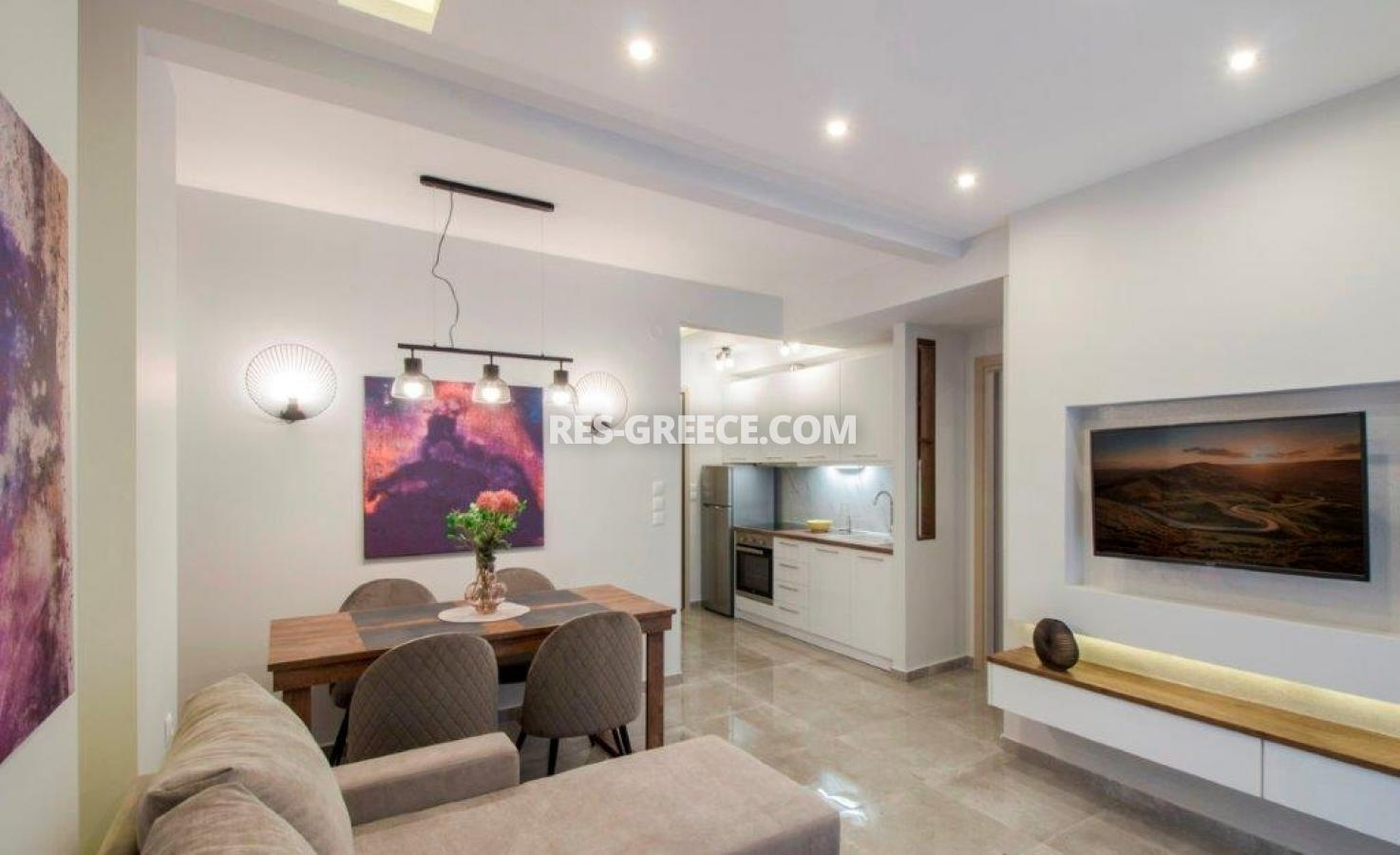 Kontogouri, Central Macedonia, Greece - fully furnished and decorated apartment after full renovation near Nea Paralia - Photo 3