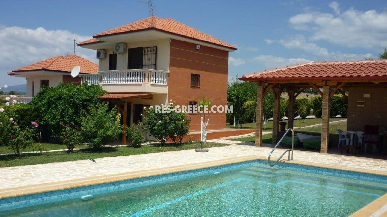 Eleones, Halkidiki-Sithonia, Greece - villa with a pool with great views and big garden - Photo 2