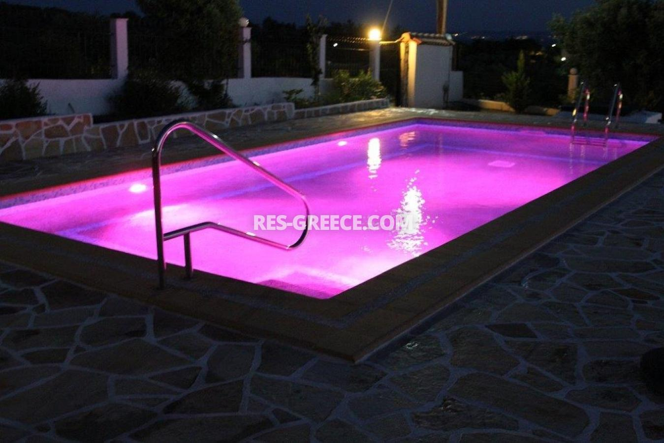 Eleones, Halkidiki-Sithonia, Greece - villa with a pool with great views and big garden - Photo 14