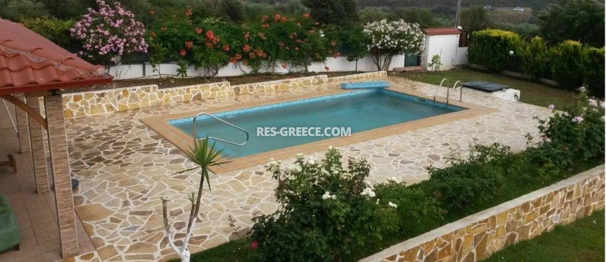 Eleones, Halkidiki-Sithonia, Greece - villa with a pool with great views and big garden - Photo 17