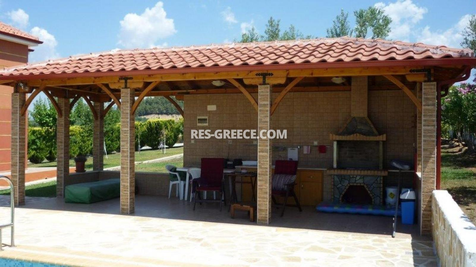 Eleones, Halkidiki-Sithonia, Greece - villa with a pool with great views and big garden - Photo 13
