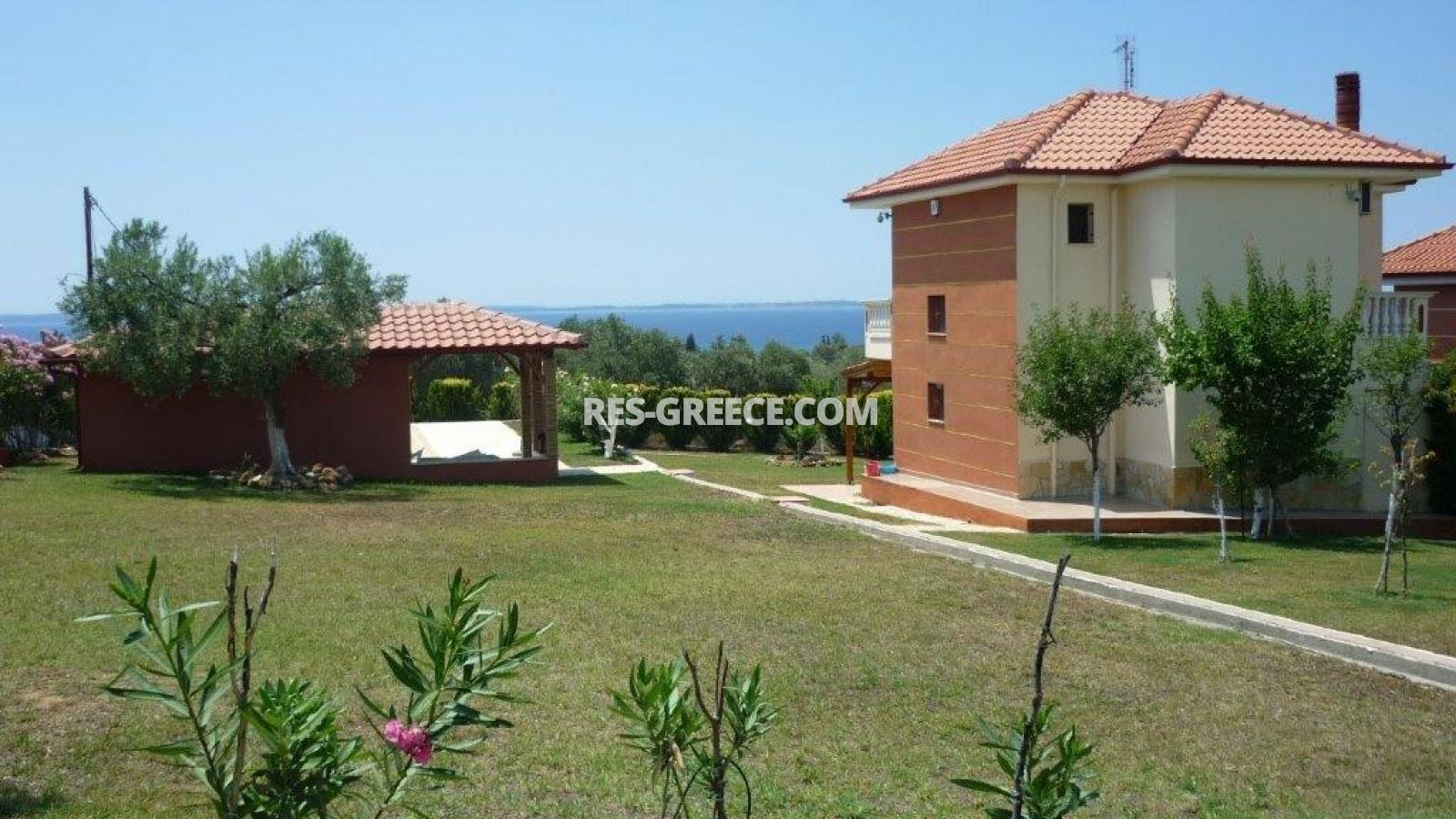 Eleones, Halkidiki-Sithonia, Greece - villa with a pool with great views and big garden - Photo 3