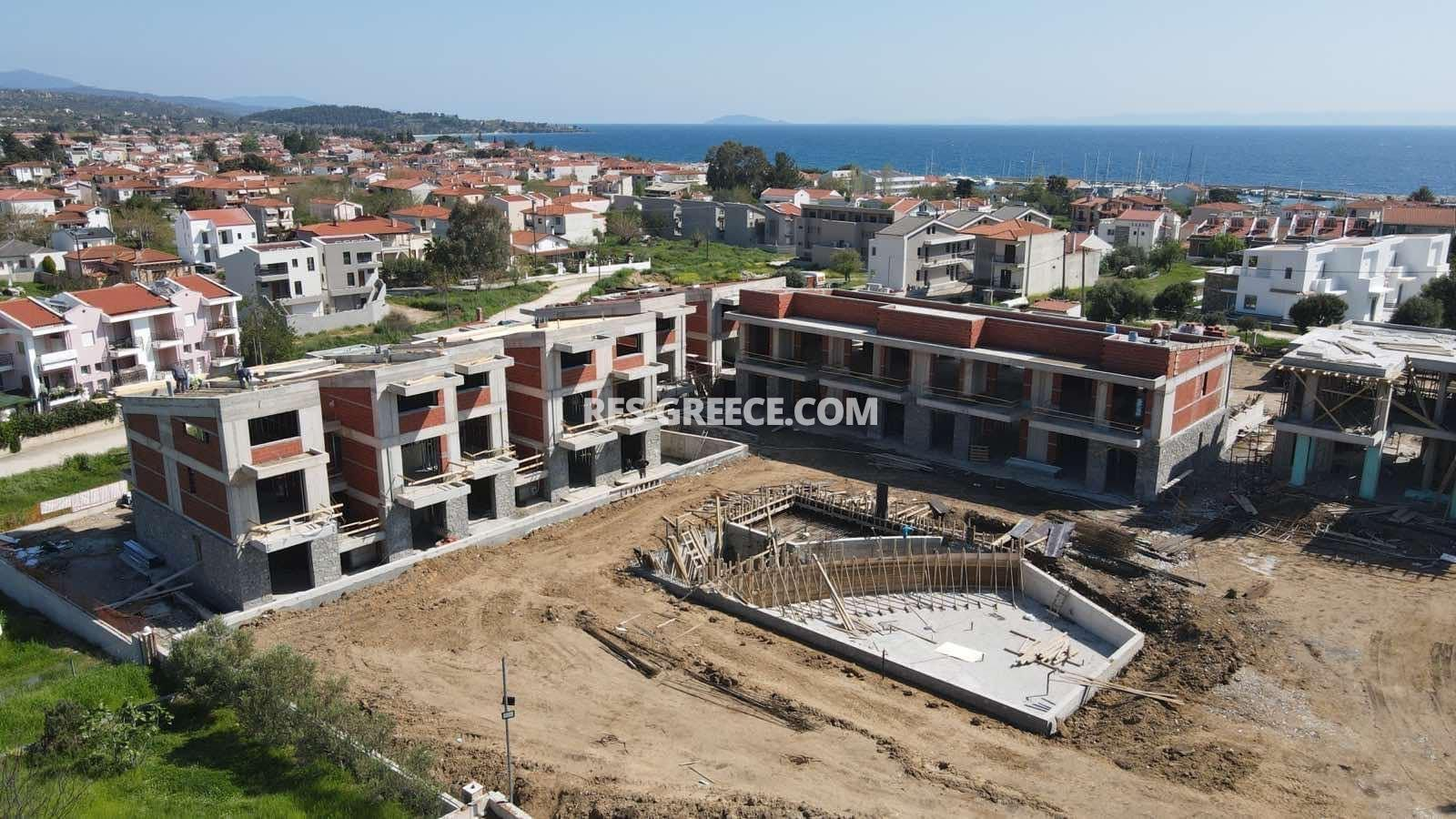Anasa townhouses, Halkidiki-Sithonia, Greece - cottages in a new complex with the pool - Photo 19